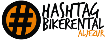 Hashtag Bike Rental Logo